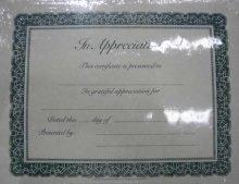 Appreciation Church Certificates - Certificate-Appreciation (Package of 6)