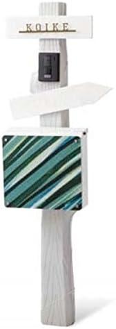 トーシン ユナイト ログ VOL.10 P21-2(本体・表札・ポスト・ポストオプション付きセット) EP-UNITE-LOG-GR グレー