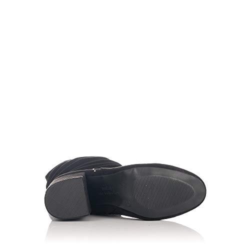 Noir Antil Genou du C35442 MTNG Bottes Au Negro Femme Dessus 57400 UXxxCq08