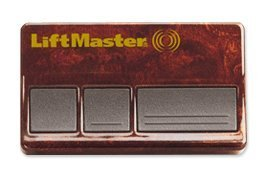 Liftmaster 373W Garage Door Opener Remote burled walnut same as 373LM