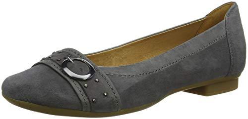 Dark 19 grey Shoes para Bailarinas Mujer Gabor Casual Gris Gabor xAzwq0PRn
