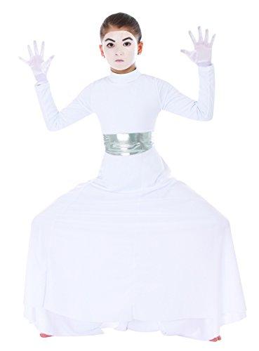 Body Wrappers 0565 Girls Praise Dance Palazzo Pants (12-14, Black)