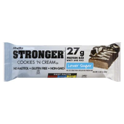 Stronger Cookies 'N Cream 2.82 Ounces (Case of 12) by NuGo