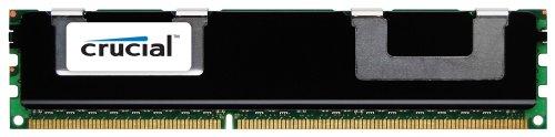 Crucial Technology CT51272BB1339 4 GB 240-pin DIMM DDR3 PC3-10600 CL=9 Registered ECC DDR3-1333 1.5V 512Meg x 72 Memory (E30 Rack)