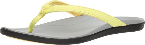 - OLUKAI Women's Ho'Opio Pineapple/Pale Grey 8 B US