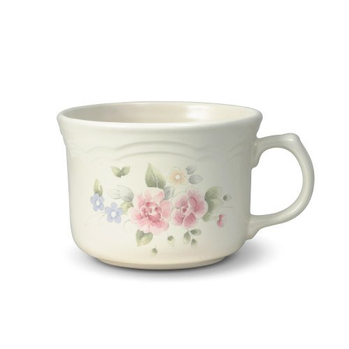 Rose Stoneware (Pfaltzgraff Tea Rose Jumbo Soup Mug, 24-Ounce)