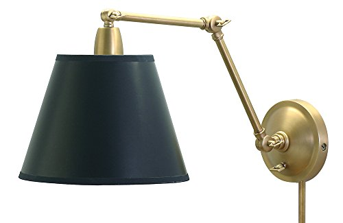 House Of Troy PL20-WB Library Lamp Portable Wall Sconce Lamp, 20