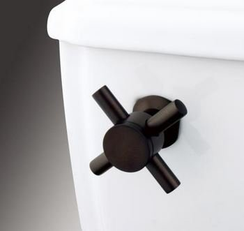 K&A Company Concord Toilet Tank Cross Handle - Oil Rubbed Bronze