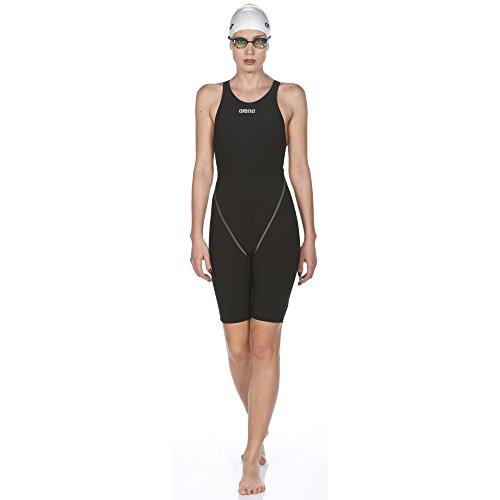 Arena Women's Powerskin St 2.0 Full Body Short Leg Swimsuit, Black, 24