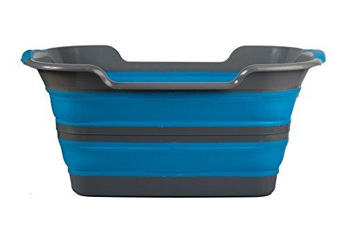 Viking Collapsible Laundry Basket – Large, Portable Collapsing Hamper