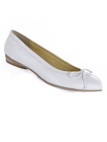 larghezza piatte Ballerine Pediconfort donna classiche bianca ampia n7AxUzq