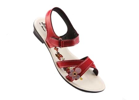 01f5afef46dab7 Paragon Girls Red PU Sandals (0205) (009C UK Age 2.5-3 Years)  Buy ...