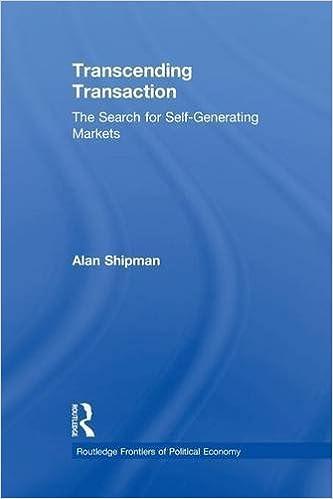 Download google bøger lovligt Transcending Transaction: The Search for Self-Generating Markets by Alan Shipman 1138881023 på Dansk PDF ePub iBook
