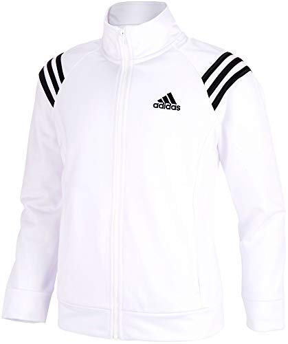 adidas Girls Event Jacket (White, X-Small) by adidas