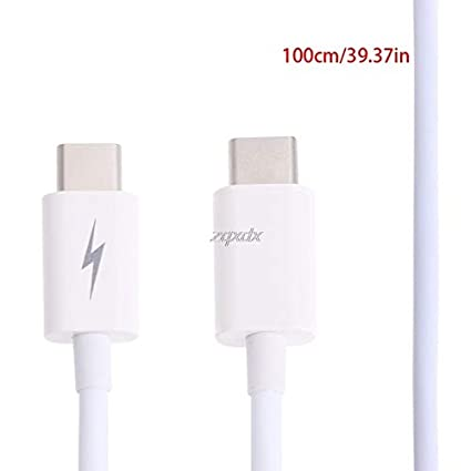 USB-C USB 3.1 Type C Male To Male Data Sync Charging Connector Adapter Cable 18cm//100cm July Value-5-Star