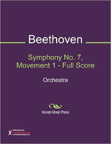 Symphony No. 7, Movement 1 - Full Score
