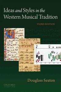 Ideas+Styles In West.Musical Tradition