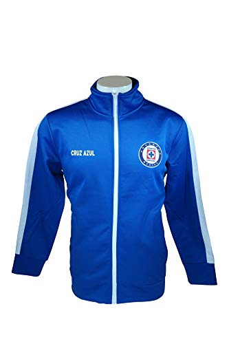 Cruz Azul Official License Soccer Track Jacket Football Adult Size 003 Large ()