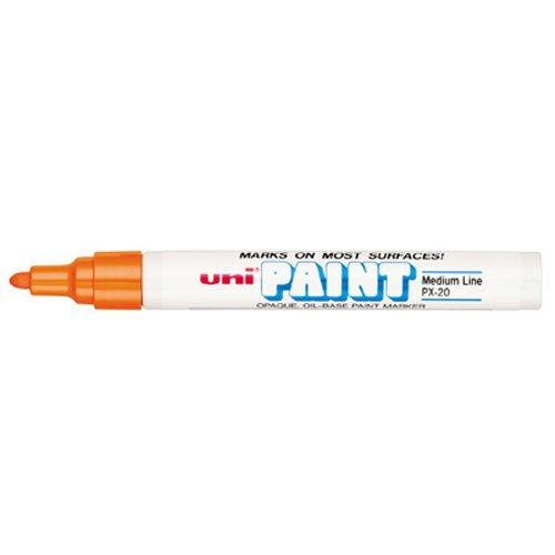 uni-paint-px-20-oil-based-paint-marker-medium-point-orange-1-count