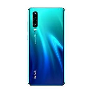 Huawei P30 Dual/Hybrid-SIM 128GB (GSM Only, No CDMA) Android 9.0 4G Smartphone, Aurora Blue