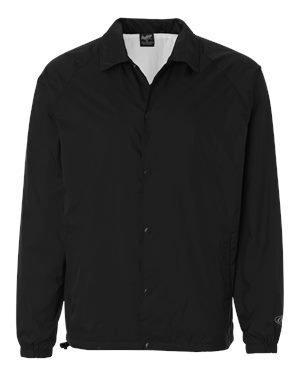 - Rawlings RP9718 Coaches Jacket - Black, Medium