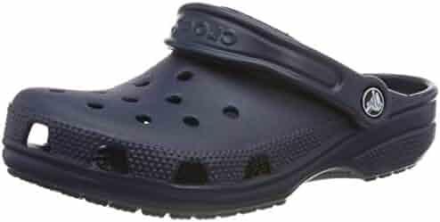 Crocs Classic Clog|Comfortable Slip On Casual Water Shoe, Navy, 13 M US Women / 11 M US Men
