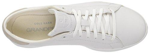Sneaker Women's Tennis Leather Optic White Fashion OX White Cole Optic Lace Haan Grandpro BFWHZ