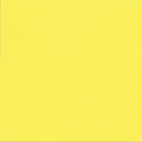 UPC 873401001361, 8.5x11 Yellow Hots Cardstock Paper Smooth, 25 Sheets, Card Stock, Scrapbooking 65# lb.