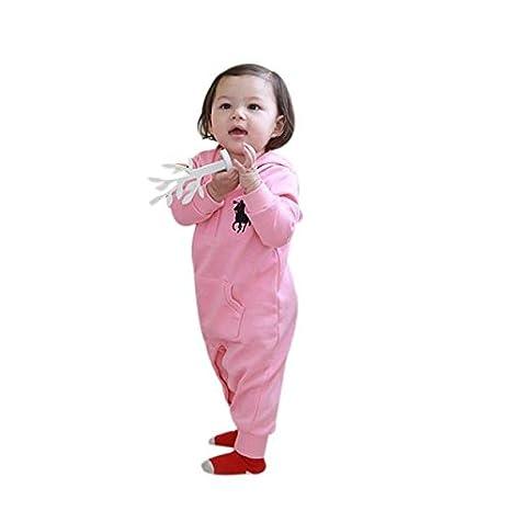 switchali Cute caballo patrón bebé mono Pelele rosa Talla:90: Amazon.es: Bebé