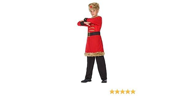 DISBACANAL Disfraz de Ruso para niño - -, 7-9 años: Amazon.es ...