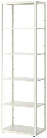Ikea FJALKINGE – estantería, Blanco – 58 x 193 cm: Amazon.es ...