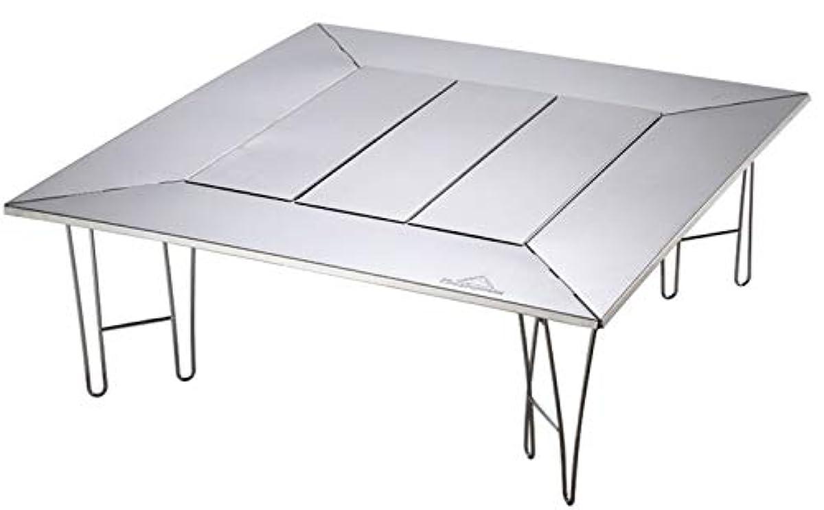 [해외] 캠핑 문(CAMPING MOON) 멀티 fire 플레이스 테이블 난로 테이블 아웃도어 테이블 편리의 테이블 화이트부 T-503