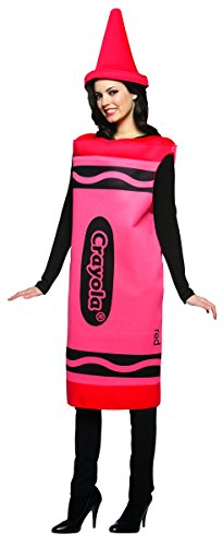 Best Group Costumes (Rasta Imposta Crayola Crayon, Red, Adult)
