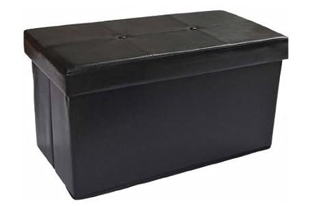 Phenomenal Amazon Com Europe Ware Instant Ottoman Folding Storage Beatyapartments Chair Design Images Beatyapartmentscom
