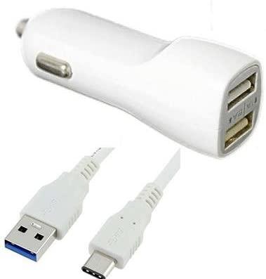 Cargador USB Tipo C para Coche y CC para Alcatel 5, A7 XL ...