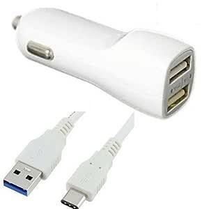 MND - Cargador de Coche y CC Compatible con BLU G9, Vivo XL ...