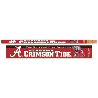 Alabama Crimson Tide Official NCAA Standard 7'' Pencils by Wincraft by WinCraft