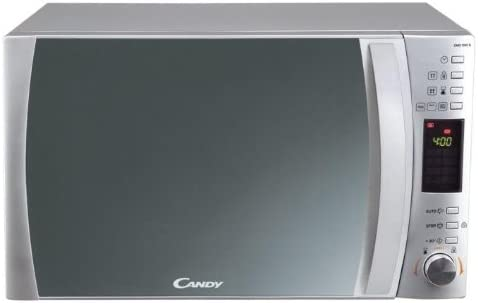 Candy D CS CMC 25 DCS Combinado 25 litros. Microondas:900 W/Grill:1000 W/Horno:2000 W. Display Digital. Color: Silver, 1450 Plateado
