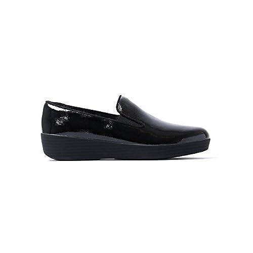dc6f07207c137 FitFlop™ Superskate™ Crinkle-Patent Loafers hot sale - appleshack.com.au