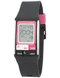 Casio LDF-52-1A Ladies Black Poptone Digital Watch