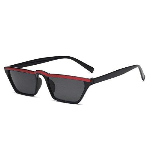 los Gafas Gafas de Sol Europa Ojo Retro Gato E Regalos Sol de y creativos Unidos Estados de Las de pequeño de Cejas Axiba Marco de Hombres Gafas qX6wZUUxT