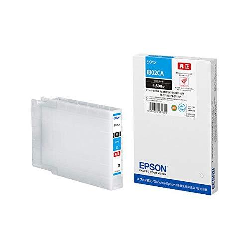 【純正品】 EPSON IB02CA インクカートリッジ シアン AV デジモノ パソコン 周辺機器 インク インクカートリッジ トナー インク カートリッジ エプソン(EPSON)用 14067381 [並行輸入品] B07PT9VMLD