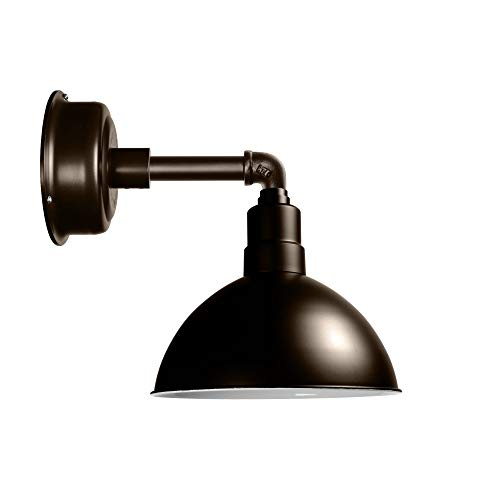 (Cocoweb Blackspot Gooseneck Barn Light Fixture - 8