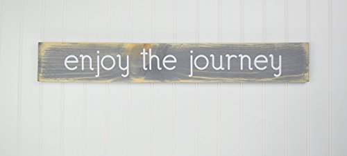 gray-wood-sign-enjoy-the-journey-rustic-wall-decor-plaque
