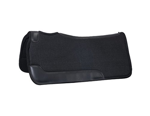 - Tough-1 Contour Felt Saddle Pad Black
