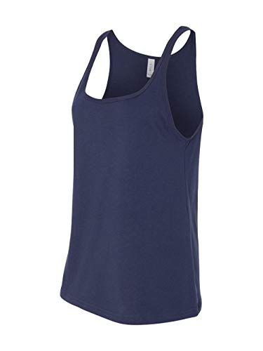 Bella 6488 Ladies Relaxed Jersey Tank - Navy, -