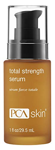 PCA SKIN Total Strength Serum - Plumping & Firming Skin Treatment containing Growth Factors & Peptides, 1 fl. oz.