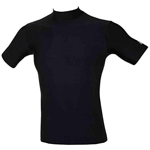 McDavid 993 Cold Gear Short Sleeve Body Shirt Black-Small