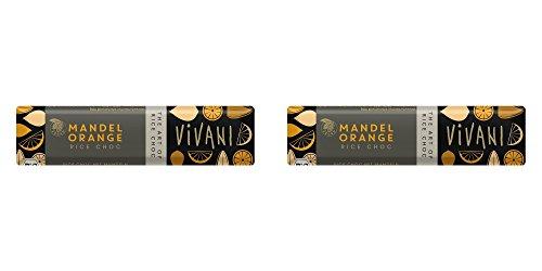 (2 PACK) - Vivani Organic Almond Orange With Rice Milk | 35 x 18g x | 2 PACK - SUPER SAVER - SAVE MONEY ()