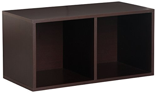 - Foremost 327809 Modular Large Divided Cube Storage System, Espresso